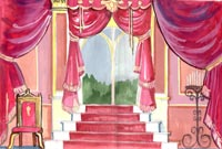 Ken Fletcher's Set Design for Sleeping Beauty