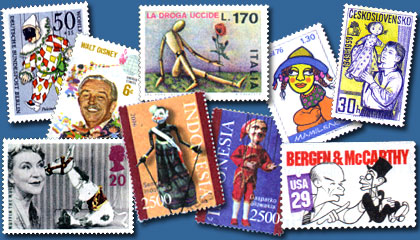 Puppet Stamps of the World