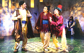 Costumes by Kay Wilton for MAC Productions Arabian Nights