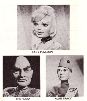 Thunderbirds Stage Show Programme