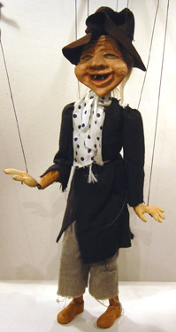 Tramp Puppet from the Wills' Marionettes